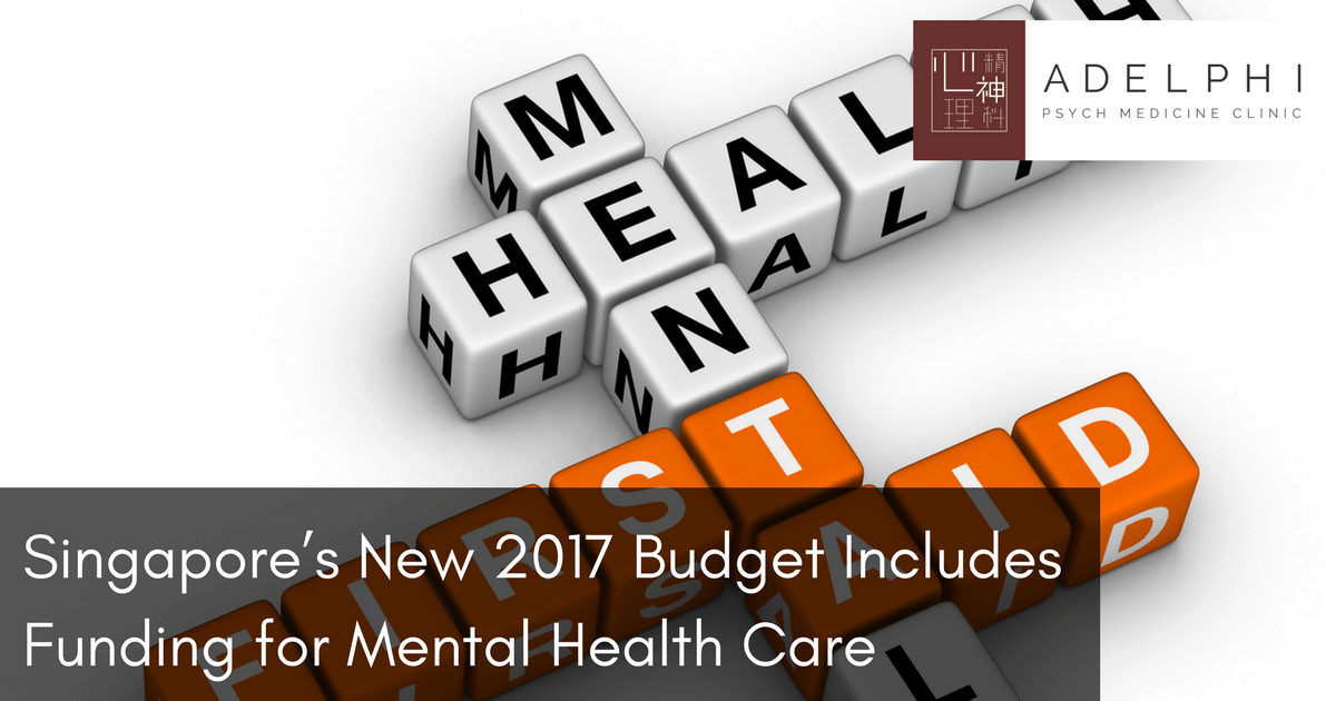 Singapore's New 2017 Budget Includes Funding for Mental ...