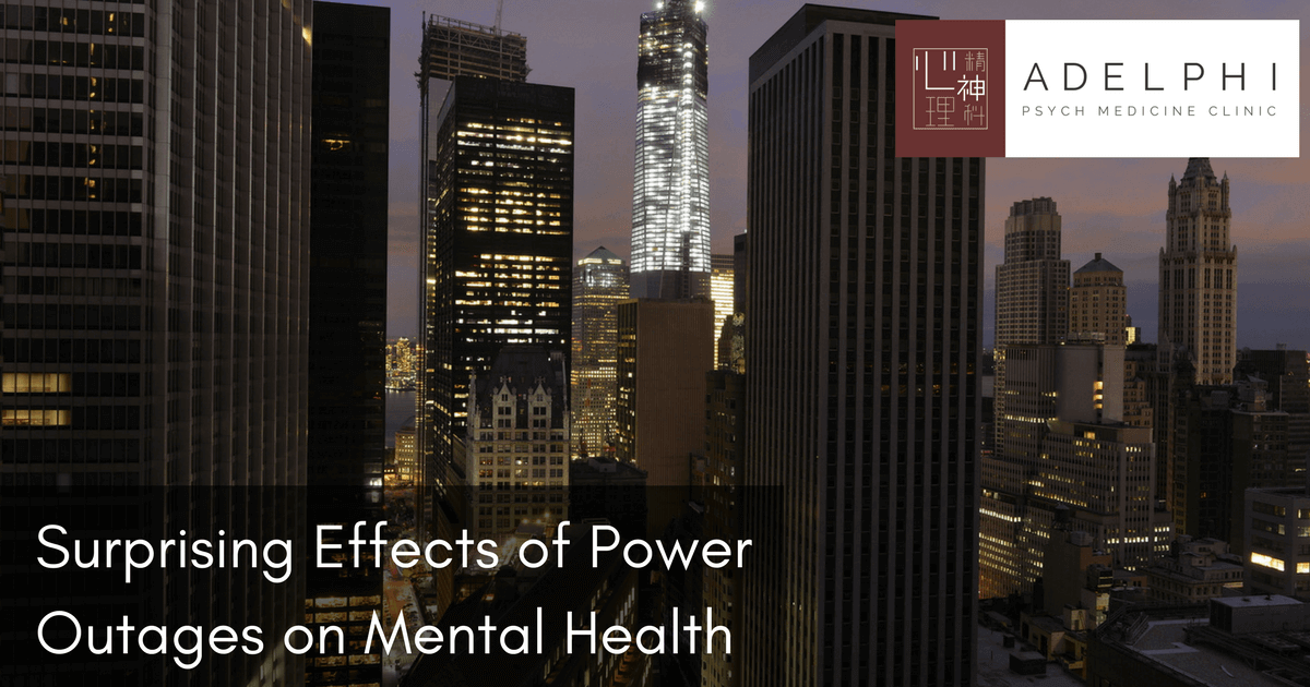 Surprising Effects of Power Outages on Mental Health ...