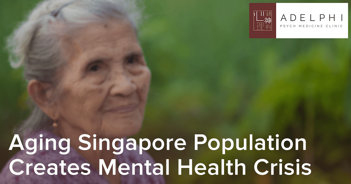 The Aging Population in Singapore Creates Mental Health Crisis