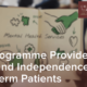 IMH Programme Provides Hope and Independence for Long-Term Patients