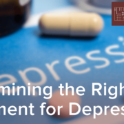 Determining the Right Treatment for Depression