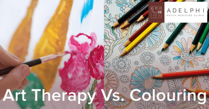 Art Therapy Vs. Colouring