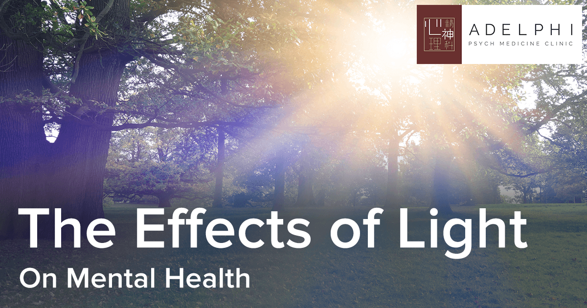 The Effects of Light on Mental Health